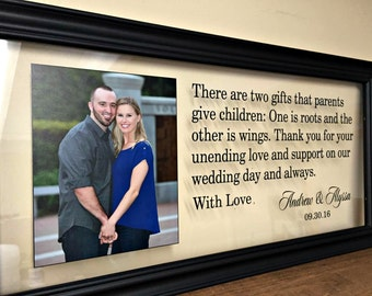 Wedding Gifts Personalized Mother of the Groom Gift, Wedding Gifts for Parents Parents Gift Wedding Gifts for Parents Father of the Bride