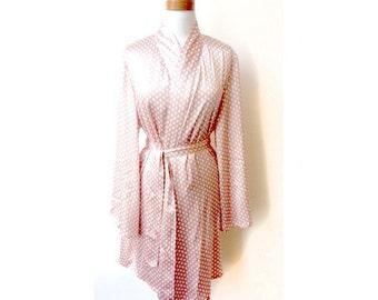 Clementine Robe in Pink Geo Print