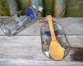 Melted - Flatten Absolut Vodka Liquor Bottle - Unique Kitchen Accessory