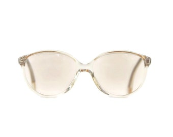 NiGuRa round clear cream transparent woman frames glasses rimmed eyeglasses frames Panto shades cat eye