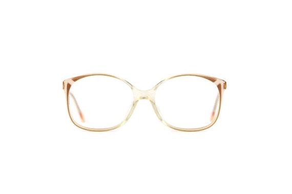 zeiss brown glasses transparent frames