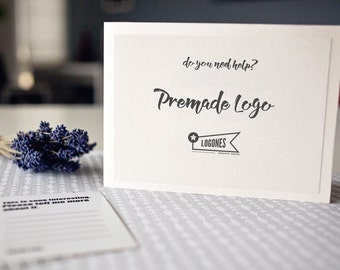 Premade Logo - Do you need help? Let ME Help You To Customize An Instant Download Logo Design Offered In My Shop!