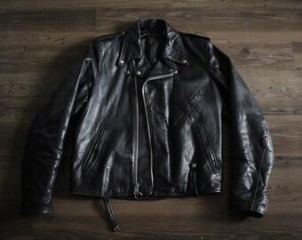Vintage AMF Harley Davidson Motorcycle Jacket 42 Tall