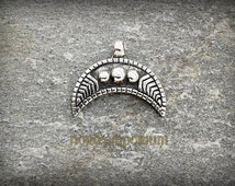 LUNULA (silver-plated bronze) viking, slavic, pagan