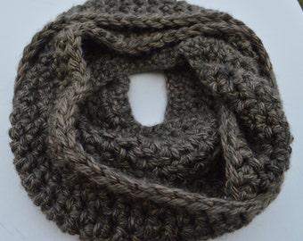 Granite inspired infinity scarf