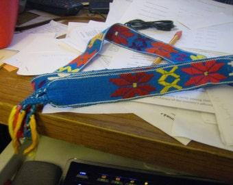 Guatemalan  Woven Belt