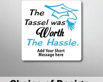 Personalised Graduation Quote Magnet