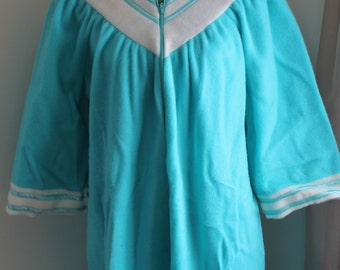70s Maxi Fleece Robe by Elegant Lady Creations Monsanto Wear Dated Size Large New Unused Vintage Housecoat