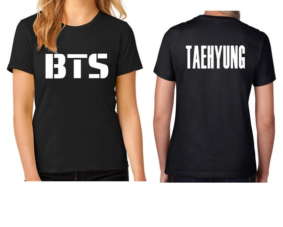 BTS T-shirt, Bangtan Boys t-shirt, kpop t-shirt, korean boy band t ...