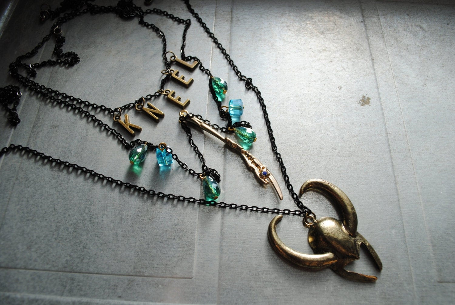 loki 3 necklace set age of jewelry collection