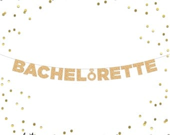 Bachelorette Ring Glitter Banner | Bachelorette Party | Photo Booth | Backdrop