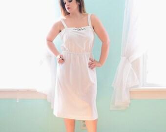 Sheer white dress | Etsy