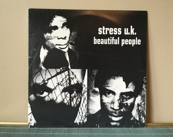 Stress UK Beautiful People single LP record nineties 90s 1990s music vintage