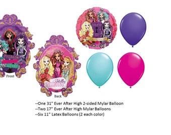 Ever After High Balloon Set
