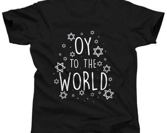 Jewish Shirt Star Of David Men Funny Hanukkah Tshirt Dreidel T-Shirt Judaica T Shirt Jewish Gift Chanukah Clothes Judaism
