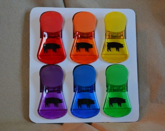 Show Livestock Magnetic Chip Clips