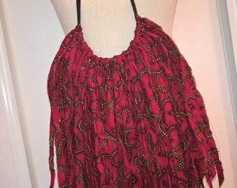 Wax loincloth necklace