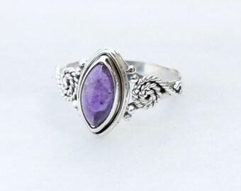 Amethyst ring Amethyst Stone Silver ring ,silver  ring, 925 sterling silver ring, stone ring,special ring,Amethyst silver ring, RNSLAM8