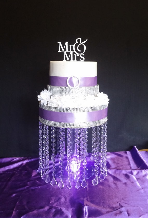 acrylic wedding cake stands with lights pendant drop acrylic cake stand with led light 10537