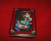 1993 Oreo TIN Unlock the Magic CHRISTMAS