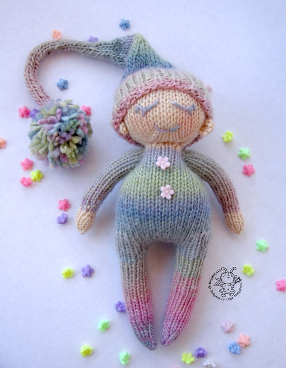 Knitting Toys In The Round : Toy for sleep boy small babies knitting pattern