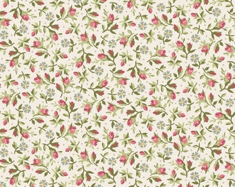 Rosebuds Graceful Moments fabric. Rose buds Floral flowers roses spring quilt quilting cotton Maywood Studio