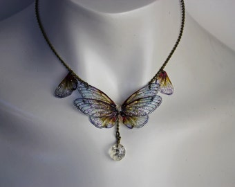 Web of Wings - Gossamer Fairy Necklace