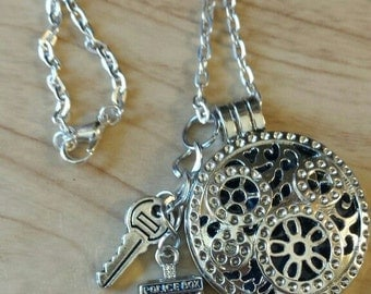 Doctor Whoc /Dr. Who Tardis Essential Oil  Diffuser Locket
