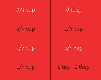 Half It - Recipe Halving Help (red)
