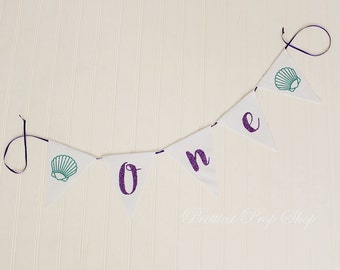 Canvas Banner, Custom Banner Flags, Triangle or Square, Cake Smash Photo Prop, Canvas Bunting, Happy Birthday, Highchair Banner