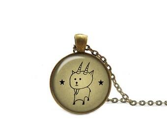 Zodiac Capricorn Necklace, Capricorn  Pendant Necklace With Chain, Capricorn Astrology Jewelry