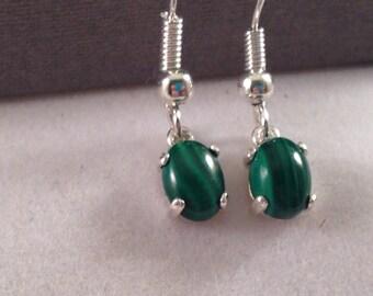 Amazing Polished stone dangle earrings