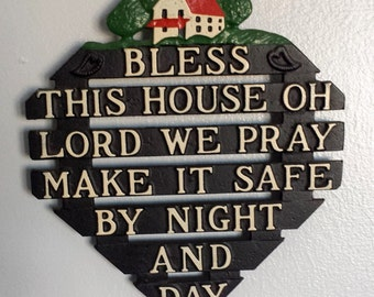 Bless This House Wall Trivet