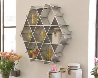 Kitchen Wall Storage, Kitchen Display, Shelf Organizer, Spice Rack, Modern  Kitchen Decor