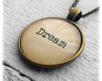 Dream Pendant and Necklace