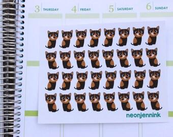 Tortoiseshell Kitten Stickers