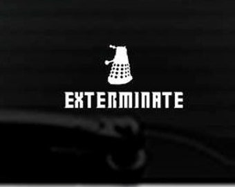 Exterminate with Dalek - Doctor Who