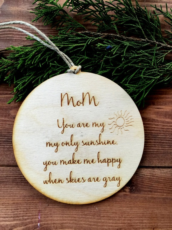 Engraved Christmas Tree Ornaments