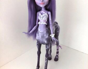 Lady Evangeline ~ Custom Monster High Avea Trotter Doll