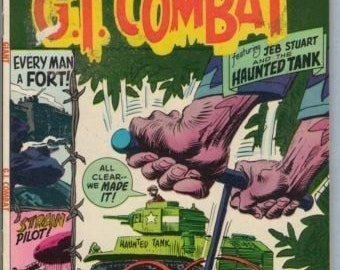 GI Combat 144 Nov 1970 VG- (3.5)