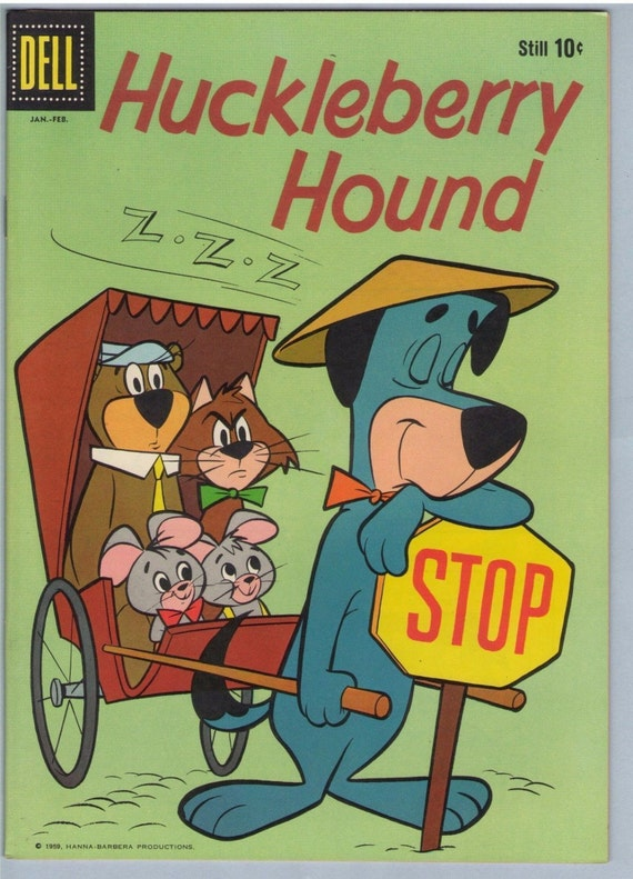 Huckleberry Hound 3 Feb 1960 NM- (9.2)