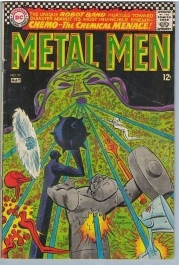 Metal Men 25 May 1967 VG (4.0)