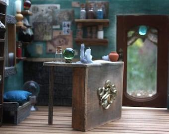 Diorama 1:12 - roombox little pullip doll - Magic Shop