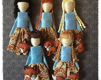 Worry Dolls - Red Fox Worry Doll