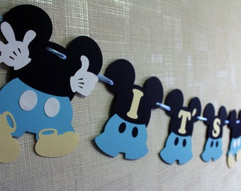 Mickey mouse baby shower decorations baby mickey baby shower boy