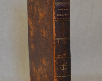 1811 History of the American Revolution, David Ramsay Volume I printed by Wilson