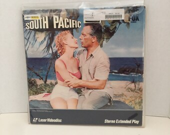 South Pacific the movie on Laser Disc / Vintage Laserdisc of South Pacific