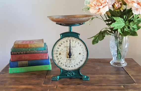 Salter kitchen scale no 46 vintage weighing scales rustic for Rustic kitchen scale
