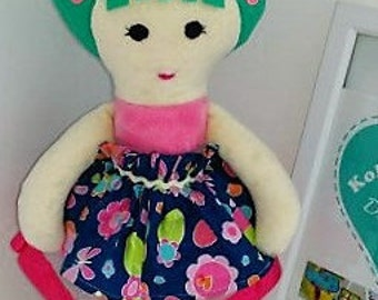 Handmade plush doll
