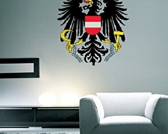 Austria Coat of Arms Austrian Pride Wall Decal
